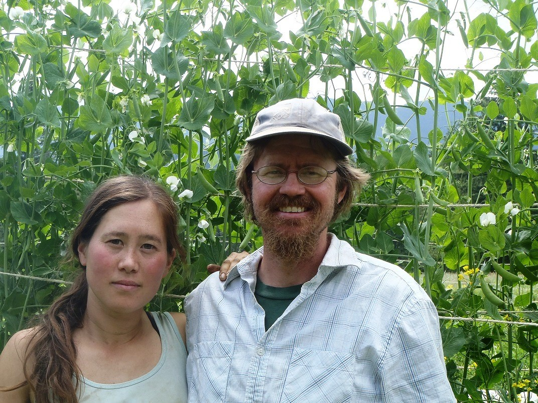 Hanako Myers and Marko Colby have permanently protected Midori Farm in Quilcene.