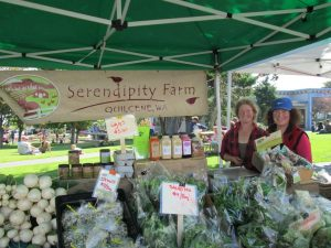 Serendipty Farm at farmers market