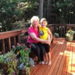 Paula McNees with her grandson