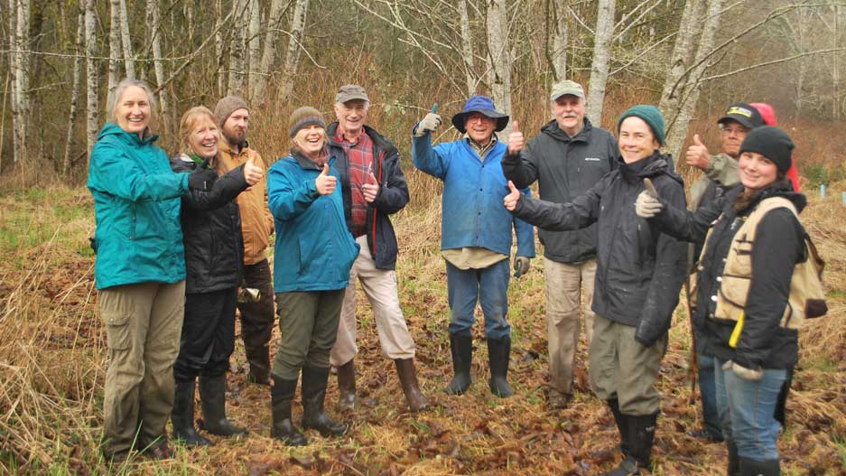 Project Evaluation Visit for Snow Creek Forest Preserve