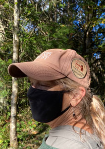 Track and Sign Specialist Patch on Land Trust hat