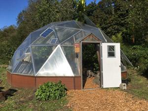 Kodama Geodesic Dome Greenhouse