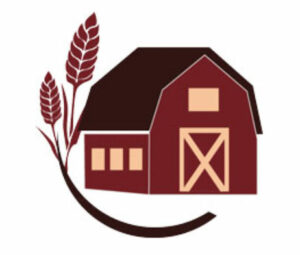 Icon of a barn with a piece of wheat.