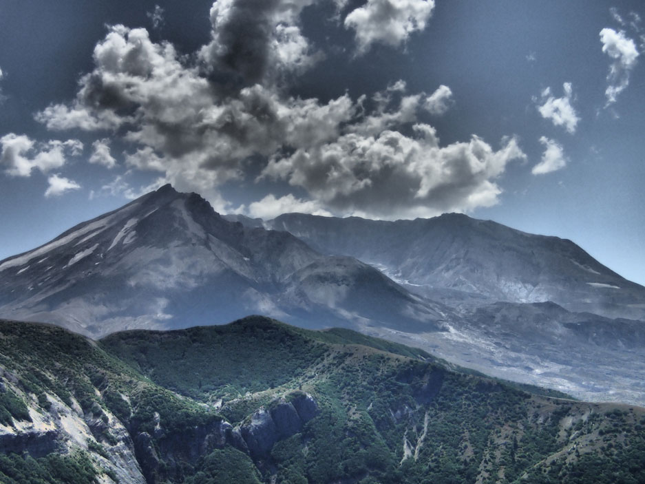 Mount Saint Helens Quimper Geological Society Trip
